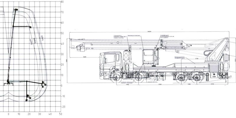 PTK750 techn. Zeichnung